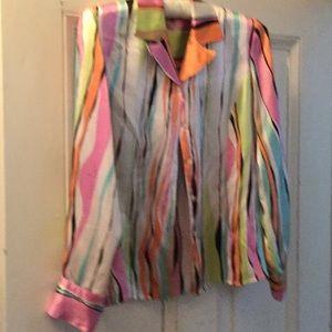 Silk blouse, 16